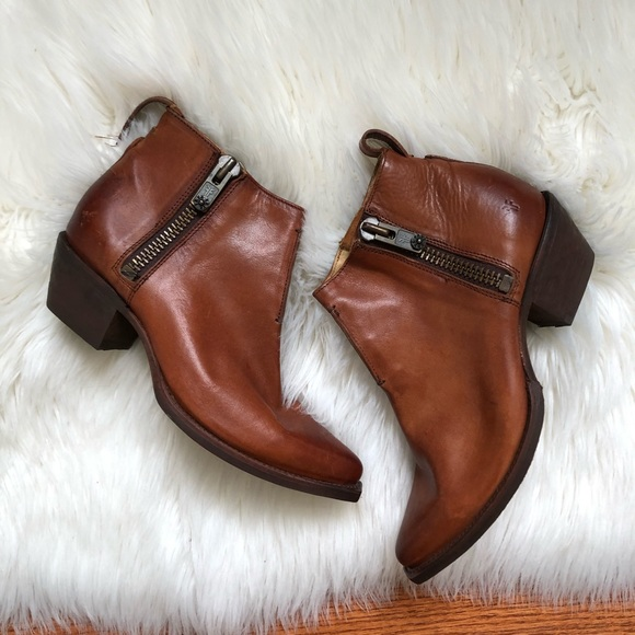 Brown Ankle Booties Pointed Toe | Poshmark